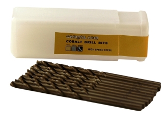 "CO0764 7/64"" Cobalt Drill Bit - 10 Pack"