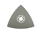 "3 1/8"" Triangular Sanding Pad - Oscillating Tool Universal Fit for Fein, Makita, Bosch, Craftsman and more."
