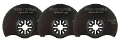 "3-1/2"" Segmented Oscillating Tool Blade - 3 Pack"